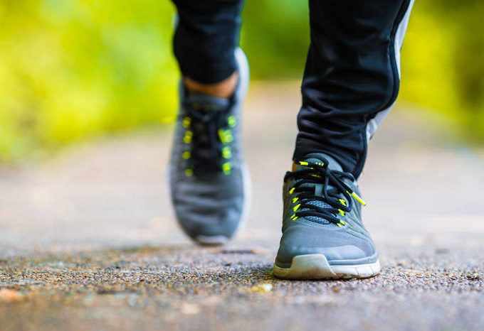 Walking leads to health benefits