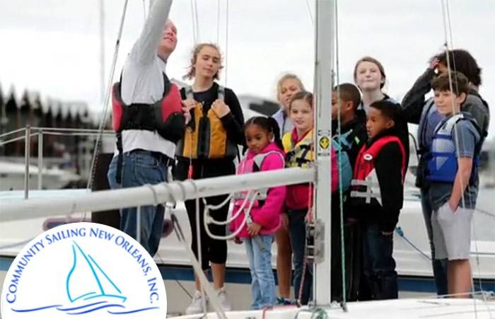 Community Sailing Center to Open in New Orleans